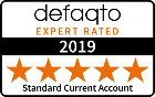 Defaqto 5 star standard current account 2019