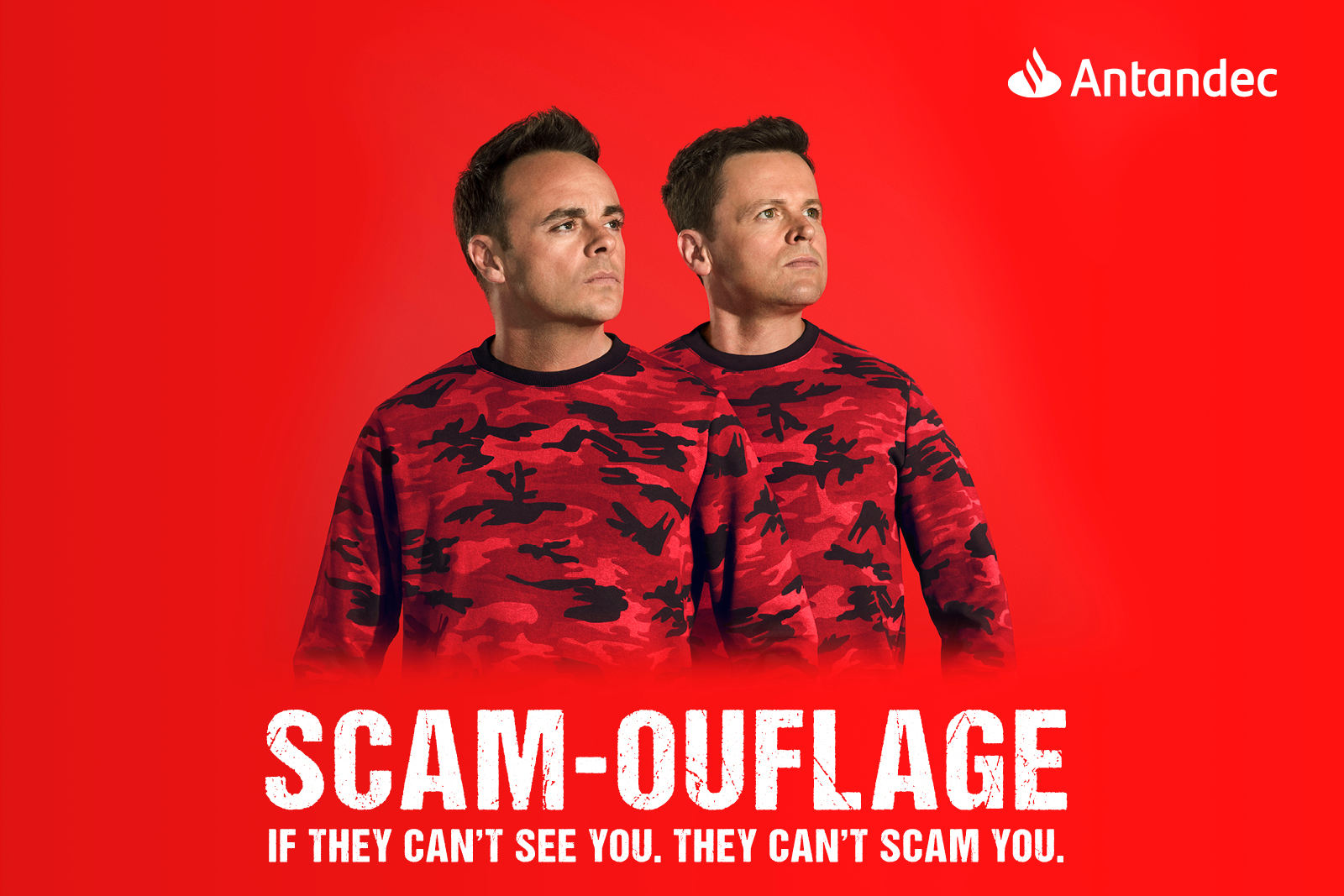 Scam-ouflage - If they can't see you. They can't scam you. Antandec Masthead