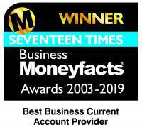 Seventeen times Business Moneyfacts award 2003-2019