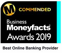 Business Moneyfacts Awards Best Online Banking Provider 2019