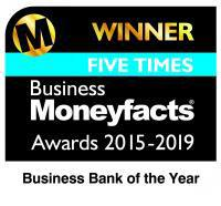 Five times Business Moneyfacts Award 2015-2019