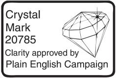 Logo for Crystal Mark 20785