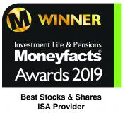 Investment Life & Pensions Moneyfacts Award 2019