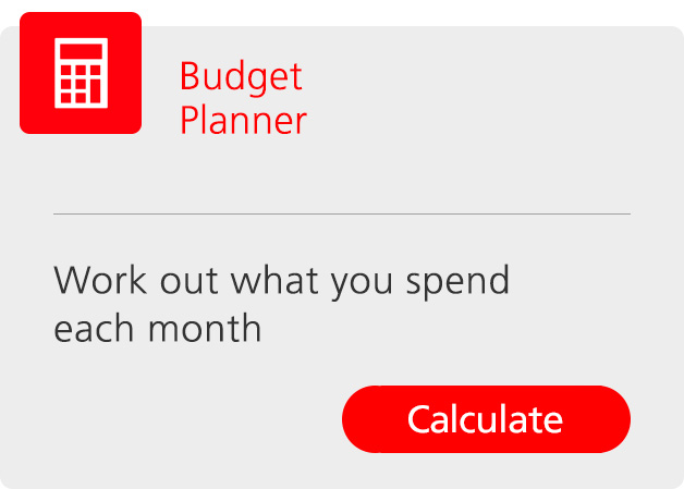 Budget planner. Find out what you spend each month.