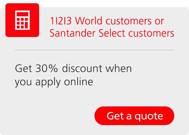 Travel Insurance Holiday Insurance Quotes Santander Uk