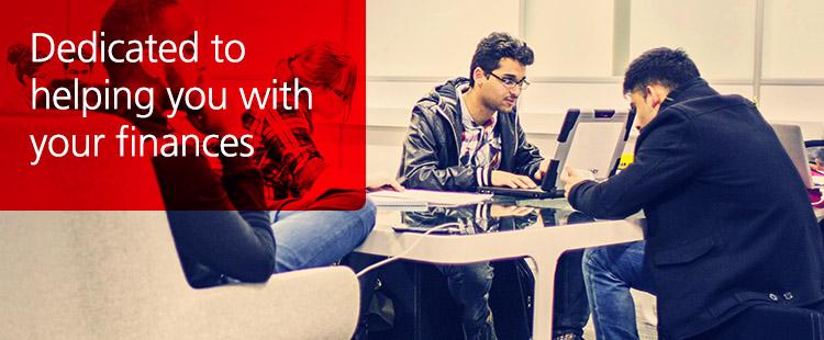 Santander Universities dedicated branches