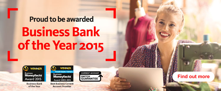 Business Bank of the Year 2015. Find out more.