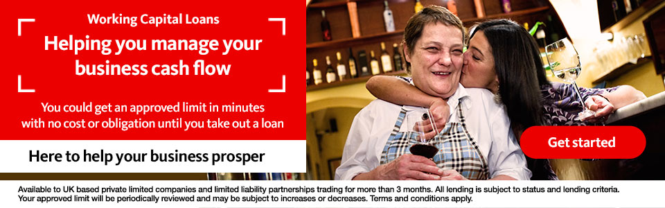 Working capital loans. Get started.
