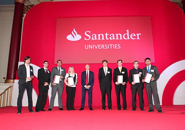 Winner of the Santander Universities Entrepreneurship Awards 2013 - Postgraduate category