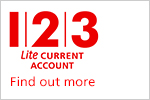 123 Lite Current Account. Find out more