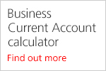 Business current account calculator