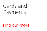 Cards and payments
