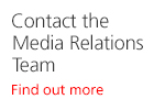 Contact the Media Relations Team