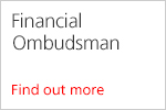 Financial Ombudsman. Find out more
