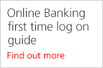 Online Banking first time log on guide