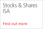 Stock & Shares ISA Find out more