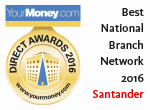Santander - best national branch network 2014