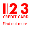 Find out more about our 1 2 3 Credit Cards