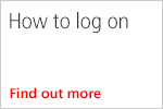 How to log on - video guide