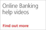 Online Banking help videos