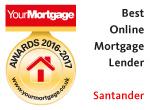 Santander - best first-time buyer mortgage lender 2016-2017