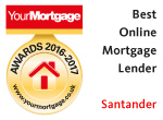 Santander - best first-time buyer mortgage lender 2016-2017