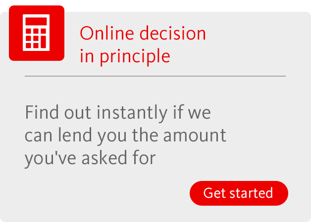 Online decision in principle. Find out more. Opens in a new window