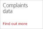 Complaints data. Find out more