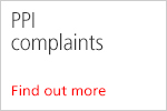 PPI complaints. Find out more