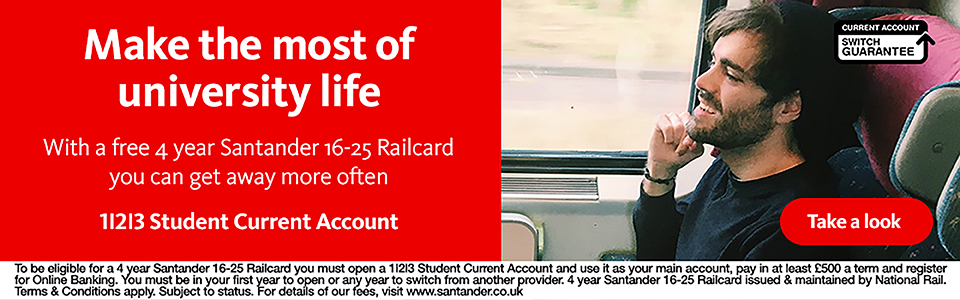 1 2 3 Student Current Account. Find out more.